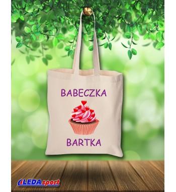 """Torba z nadrukiem """"Babeczka"""""""