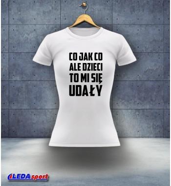 Koszulka damska biała Dzień...