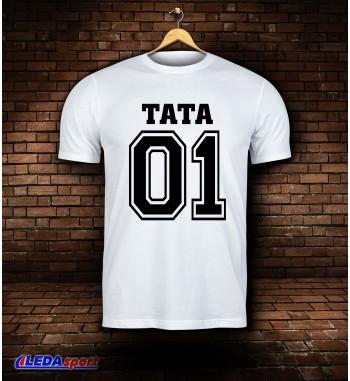 Koszulka męska biała TATA 01