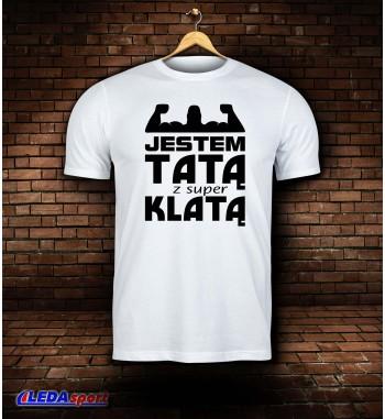 Koszulka męska biała KLATA