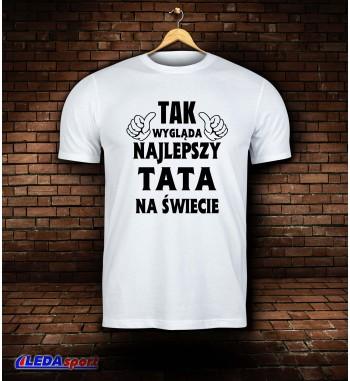 Koszulka męska biała...