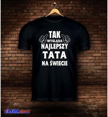 Koszulka męska czarna...