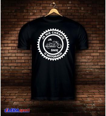 Koszulka męska czarna SEN