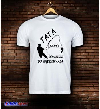 Koszulka męska biała TATA...