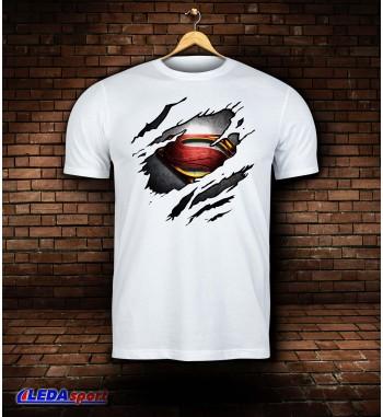 Koszulka męska biała SUPER I