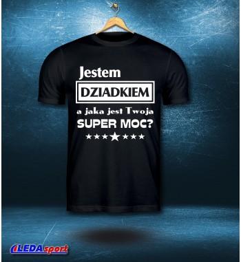 Koszulka męska czarna Super...