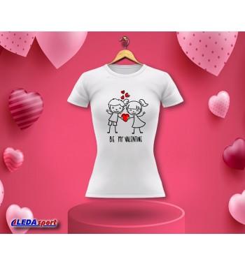 Koszulka damska biała Be my...