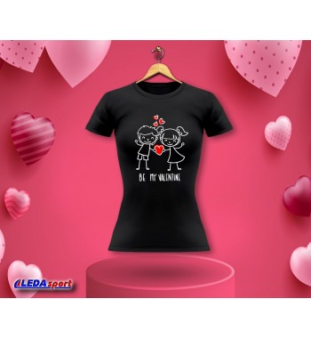 Koszulka damska czarna Be...