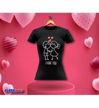 Koszulka damska czarna I...