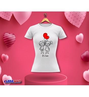 Koszulka damska biała It's...