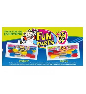 Zestaw rzutek Fun Darts