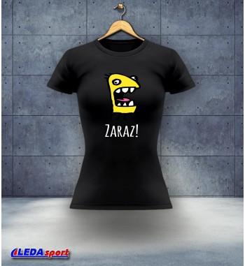 Koszulka damska czarna Zaraz