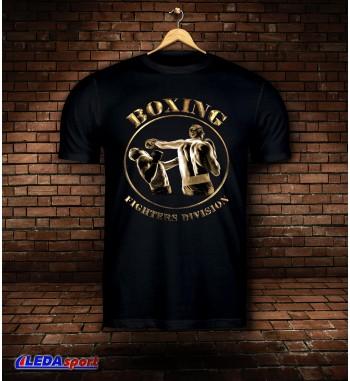 Koszulka męska czarna Boxing