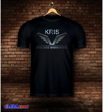 Koszulka męska czarna Kravmaga