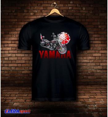 Koszulka męska czarna Yamaha