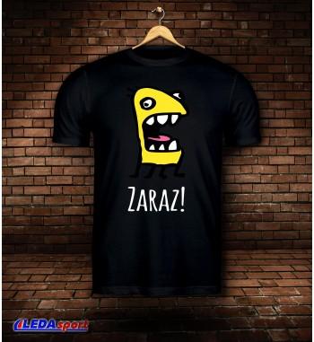 Koszulka męska czarna Zaraz
